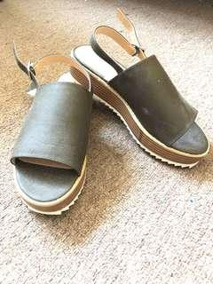 BNWT Leather sandals