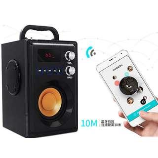 🚚 [Clearance Stock] U.P. $98, now only $48. Left last 1 set. Great Quality HaoYes A800 FM/TF Card Supported Bluetooth Speaker
