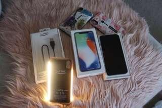 IPhone X   256gb (used) great condition