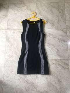 Black Bodycon Sleeveless Dress // H&M Divided