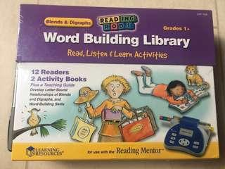 Learning Resources Blends & Digraphs Word Building Library