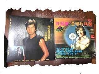 黑膠唱片Vinyl records Alan Tam Sam Hui 無花