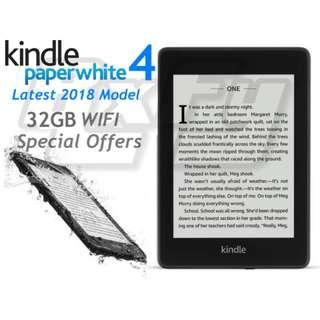 LATEST 32GB Special Offers Ads Kindle Paperwhite 4 2018 tablet ereader ebook amazon ipad