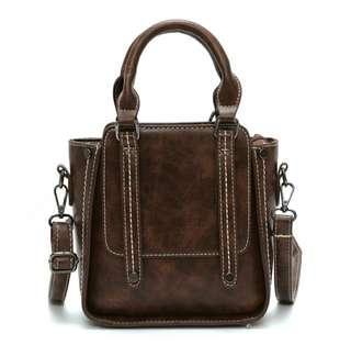 Dark brown crossbody bag