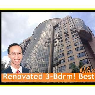 Nicely Renovated 3-Bedroom for Rent in Buona Vista!