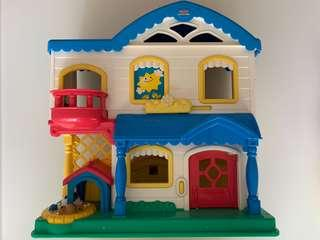 Fisher Price Playhouse (clean and in good working condition)