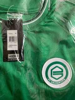 BRAND NEW WITH TAGS FC GRONINGEN AWAY UMBRO JERSEY SIZE XXL