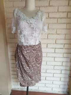 batik kebaya dress