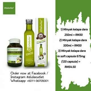 Minyak Kelapa Dara (VCO)