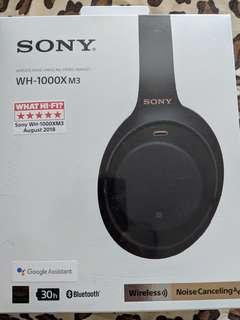 Sony ANC WH-1000XM3