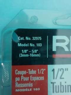 "Ridgid 1/2"" Tube Cutter"