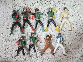 BANDAI JAPAN ULTIMATE SOLID SERIES MASKED KAMEN RIDER  GASHAPON 12CM FIGURE