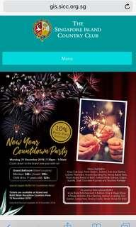 🚚 SICC New Year's Day Countdown Party Tickets