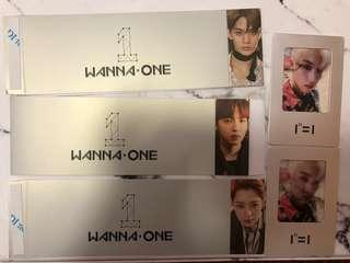 WANNA ONE POD ALBUM PHOTOCARD AND SLEEVE TRADE ADVENTURE VER