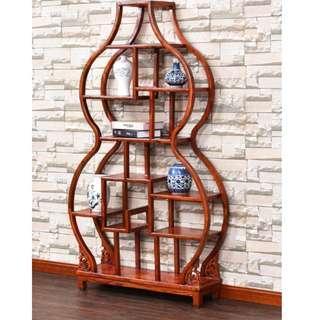 Oriental Solid Wood Cabinet