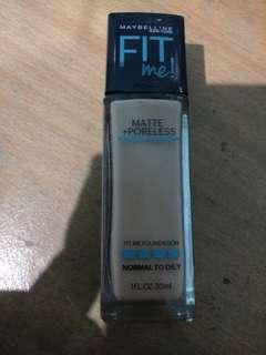 Maybelline fitme foundation shade 220
