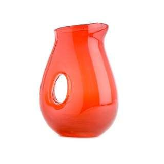 Red Jug with Hole