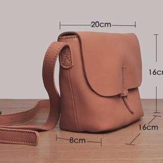 🚚 小牛皮公主學院風-手提袋 手提包 單肩包 尺寸附圖