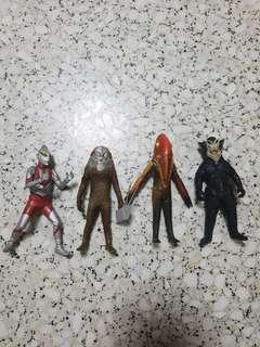 BANDAI JAPAN GASHAPON ULTIMATE SOLID SERIES ULTRAMAN IMIT KAIJU MONSTER 11CM FIGURES