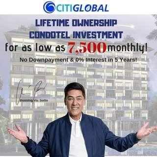 Pre selling and Affordable Condotel Unit at Tagaytay Clifton Resort Suite
