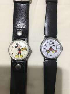 MICKEY MOUSE WATCHED with ORIGINAL BAND