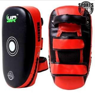 🚚 YR Kick Boxing Strike Arm Pad MMA Focus Muay Thai Punch Shield Kicking Sold as a Pair