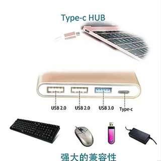 Brand New High Quality USB Type C Hub USB 3.0 2.0