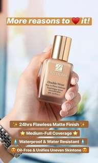 Estee Lauder double wear foundation spf 10