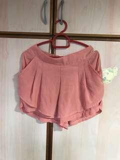 🚚 Free mailing! Orange pink shorts/skorts