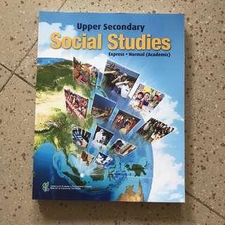 🚚 BRAND NEW Upper Secondary Social Studies textbook