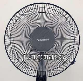 """Golden Fuji 16"""" Electric Stand Fan (Brand New, With Oscillation)"""