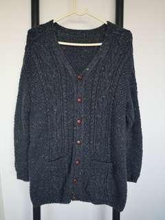 全人手編編保暖毛衣外套