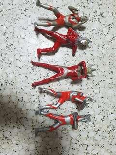 BANDAI JAPAN GASHAPON ULTIMATE SOLID SERIES ULTRAMAN GASHAPON 11CM FIGURES