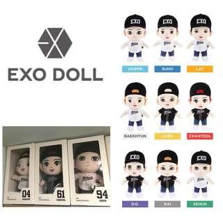 [IN STOCK] EXO OFFICIAL GOODS - DOLL