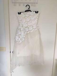 Carla Zampatti wedding bridal white dress gala event