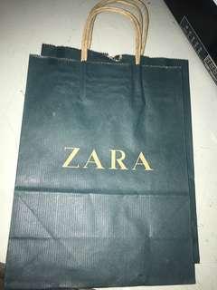 Paper bag Zara kecil