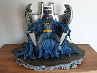 Batman on Throne statue