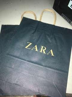 Paper bag Zara medium