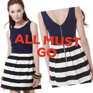 All Must Go - Striped Dress