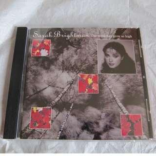 CD - SARAH BRIGHTMAN-THE TREE THEY GROW SO HIGH ,ALBUM MADE IN HOLLAND