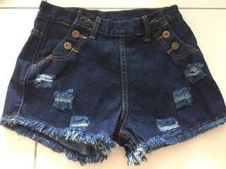 Denim Shorts Pants