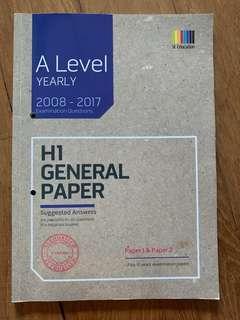 A level H1 GP TYS