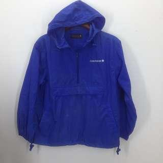 Converse windbreaker half zipper