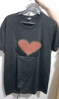 LED Heart Shirt