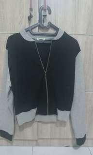 Outerwear uk M black grey