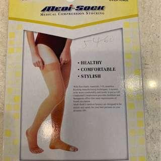 Medical compression stocking for pregnant mama!! Very important for FLYING!