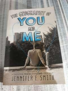 PRELOVED-JENNIFER SMITH's THE GEOGRAPHY OF YOU & ME