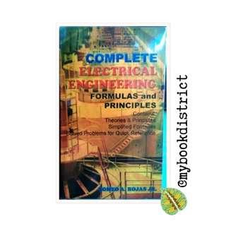 Complete Electrical Engineering Formulas & Principles by Rojas