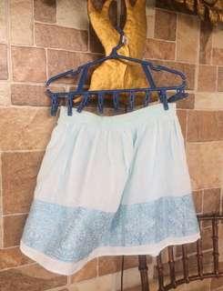 Forever 21 Embroid Skirt