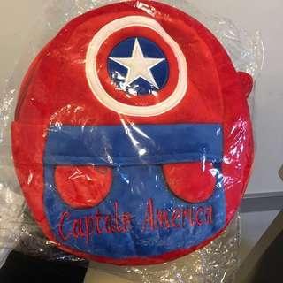 美國隊長 小朋友卡通背囊 背包 揹袋 Captain America